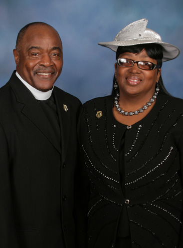 Pastor Joe and First Lady Beverly Powell